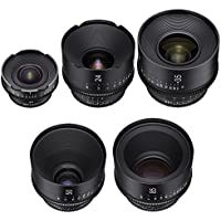 Rokinon Xeen 14, 24, 35, 50, 85mm Cine Lens Bundle (PL)