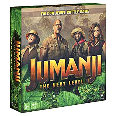 Cardinal Games Jumanji 3 The Next Level, Falcon Jewel Battle Board Game for Kids, Families, & Adults, 6054509: Toys & Games