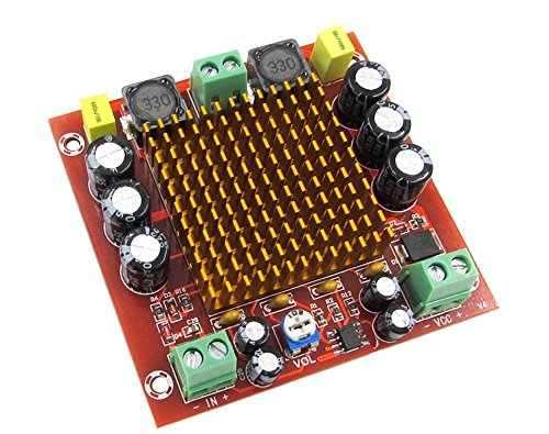 WINGONEER TPA3116D2 Mono channel digital amplifier board NE5532 150W DC12-26V AMP Module for Car Home Theater and DIY - 150 Digital Watt Amplifier