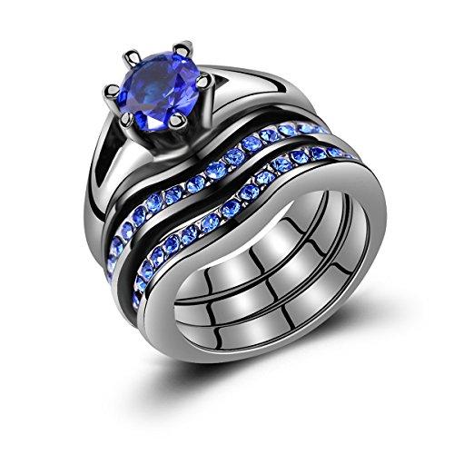 Engagement Bridal Wedding Created Sapphire product image