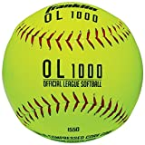 Franklin Sports Practice Softballs, Official Size and Weight, 1 Pack