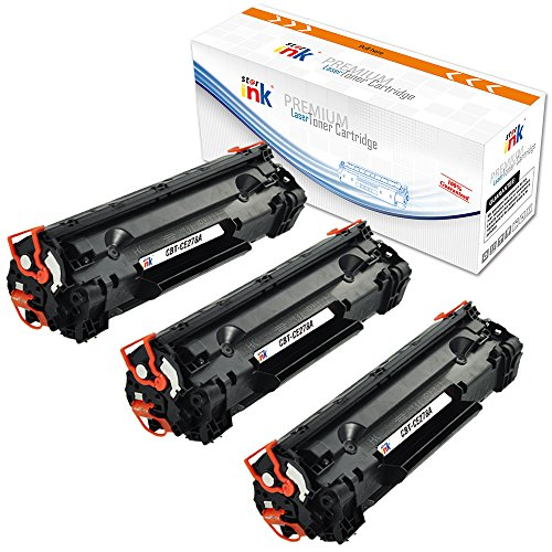 Starink 78A Toner Replacement HP 78A CE278A Toner Cartridge Compatible with HP LaserJet Pro P1606dn M1536dnf mfp P1560 P1566 P1600 (Patent,3 Black)