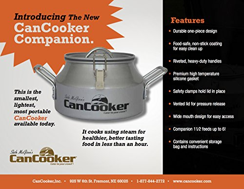CanCooker G15 Companion 1.5 Gallon Can Cooker (D132)