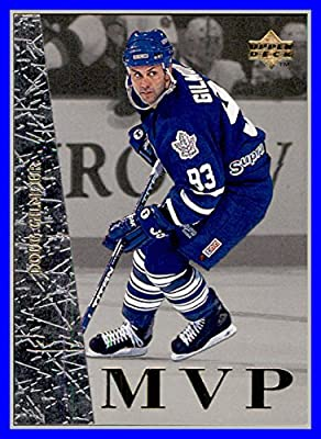 1996-97 Collector's Choice MVP #UD45 Doug Gilmour TORONTO MAPLE LEAFS