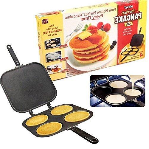 Perfect Pancake Maker Pan Flipjack Omelette Flip Jack Egg...
