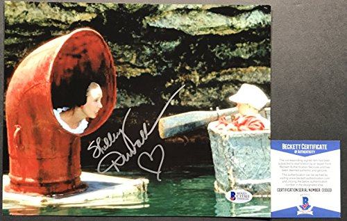 RARE!! Shelley Duvall OLIVE OYLE POPEYE Signed 8x10 #3 Photo BAS