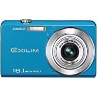 O Casio Exilim EX-ZS12 Digital Camera Blue EX-ZS12BE