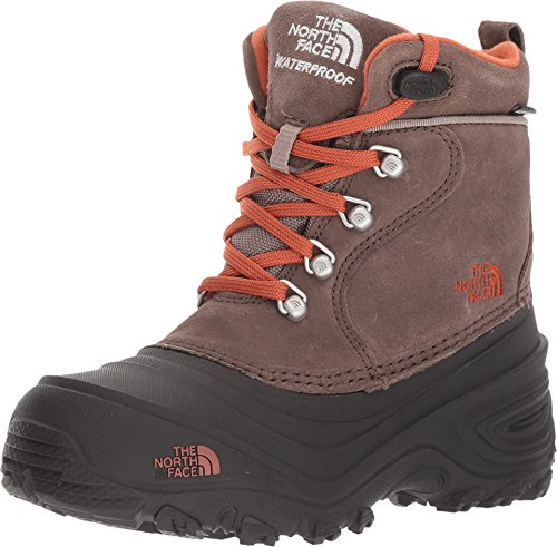 The North Face Kids Chilkat Lace II Toddler/Little Kid/Big Kid Mud Pack Brown/Sienna Orange Boys Shoes by The North Face