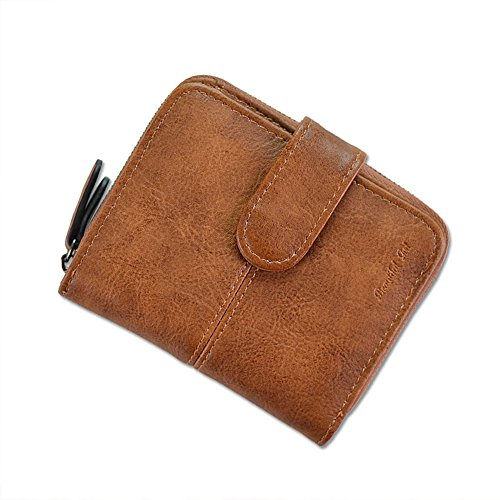 Women Short PU Leather Wallet(Pink) - 2