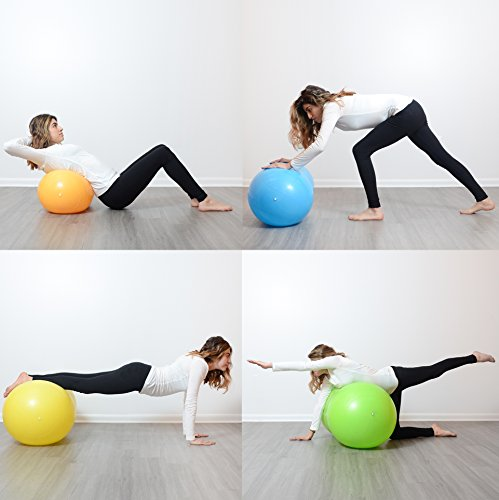 Milliard Anti-Burst Peanut Ball Approximately 31x15 80x40cm Physio Roll for and