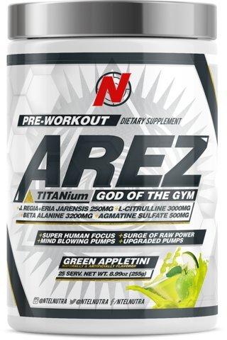 (AREZ TITANium Pre-Workout (Green Appletini))