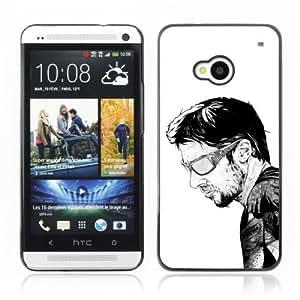 YOYOSHOP [Cool Tattoo Illustration] HTC One M7 Case