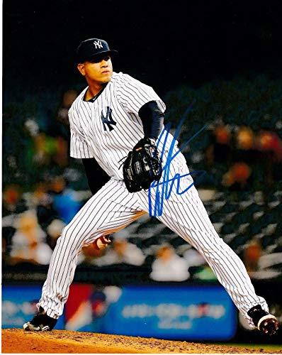 Dellin Betances Signed Photo - 8x10 - Autographed MLB Photos