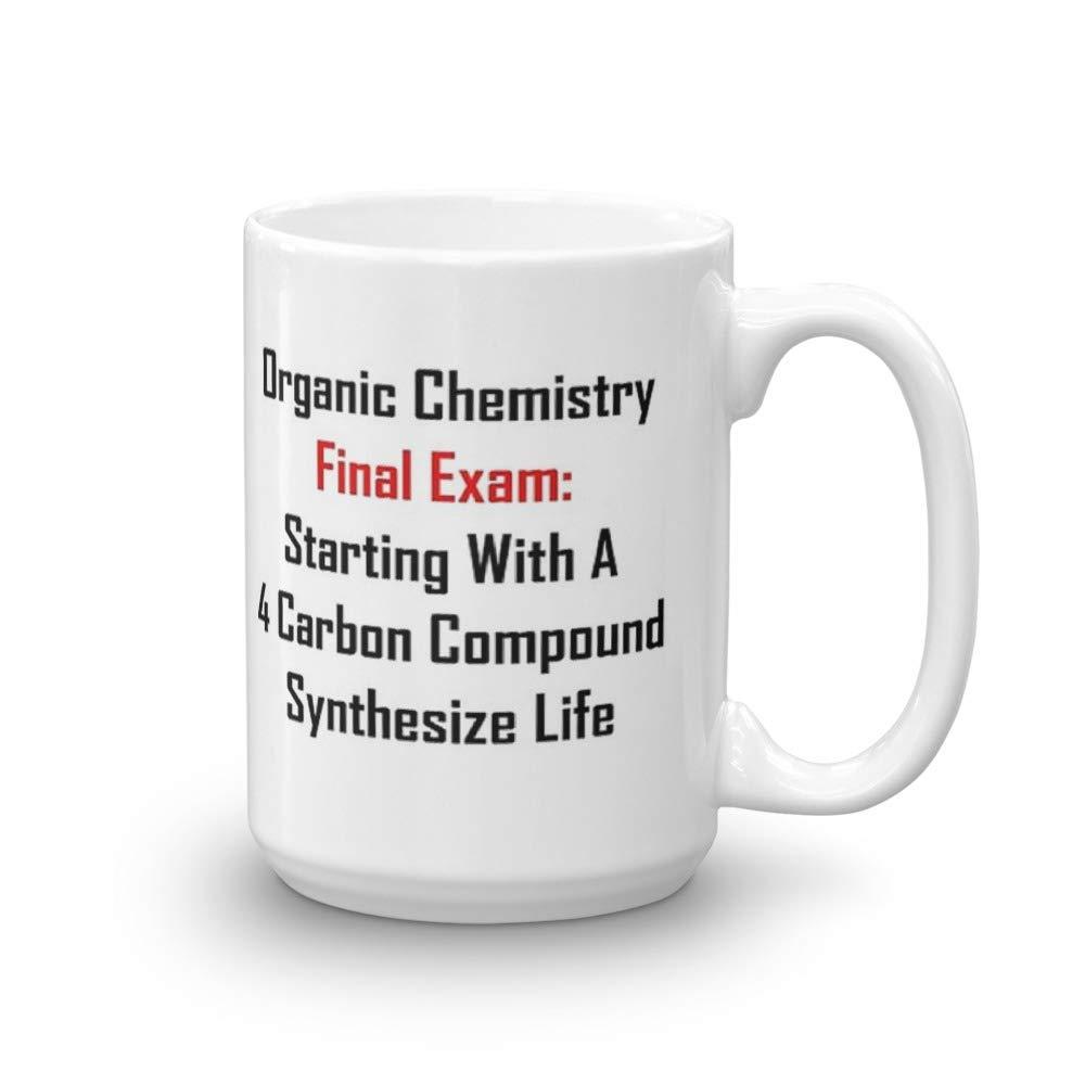 Amazon com: Organic Chemistry Final Exam: Synthesize Life  15 Oz