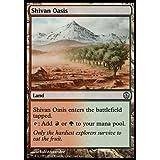 Magic: the Gathering - Shivan Oasis - Duel Decks: Phyrexia vs The Coalition