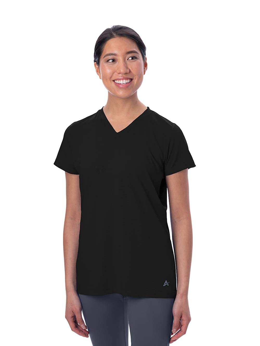Arctic Cool Women's Instant Cooling Short Sleeve V-Neck Shirt