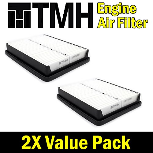 ( Pack of 2 ) TMH® TMH10881 GP881 ( 28113-2P100 ) Premium Rigid EXtra Guard Panel Engine Air Filter