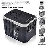 Travel Plug Adapter - 5 USB Ports