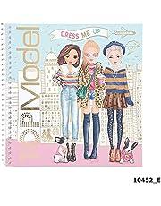 Depesche 10452 Sticker Book TopModel Dress Me Up, sorterad