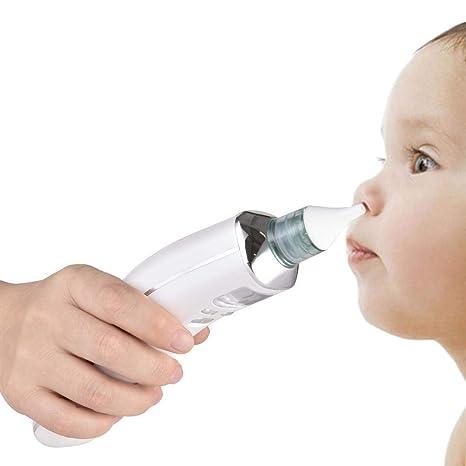 Wovemster Aspirador Nasal para Bebés Electric Aspirador Nasal para ...