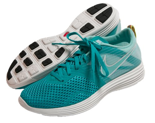 Nike Dames Lunarmtrl + Loopschoenen 522346 333 Turquoise