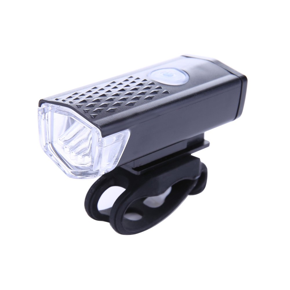 Domybest Cycling Bicycle LED Lamp USB Rechargeable Bike Front Light