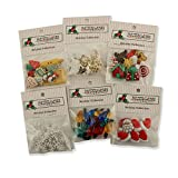 Buttons Galore Christmas Button Theme Pack (Set of 6)