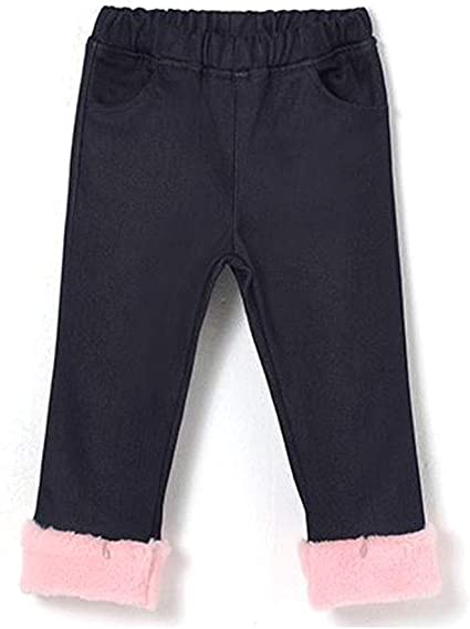 Twinkle Softy Unisex Toddler and Little Kids LED Pants with Faux Fur