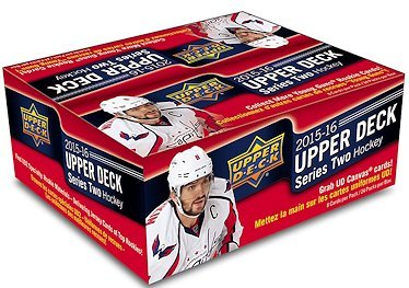 (2015/16 Upper Deck Series 2 NHL Hockey RETAIL box (24 pk))