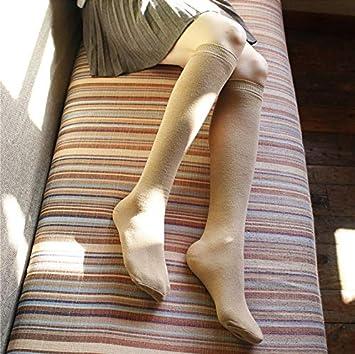 PEMKSAC Calcetines hasta La Rodilla Calcetines De Media Calcetines De Mujer High Tube Tube Calcetines De