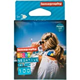 Lomography Three Pack of 100 ISO Color Negative 120mm Film Roll