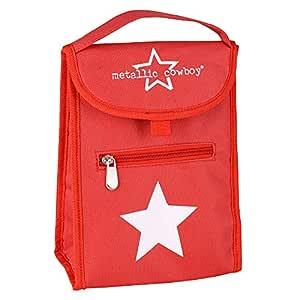 Metallic Cowboy Lunch Bag - Star Design