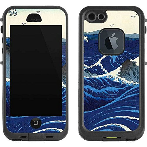 Hiroshige LifeProof Fre iPhone 5/5s/SE Skin - View of the Naruto whirlpools at Awa Vinyl Decal Skin For Your Fre iPhone 5/5s/SE