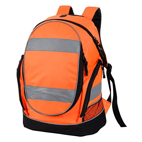 Shugon 8001–50 Hochsichtbare, Rucksack Tasche, Hi-Vis Orange