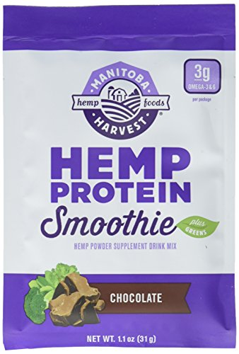 Manitoba Harvest SS Hemp Protein Smoothie Chocolate, 10.90 Ounce (Pack of 8) by Manitoba Harvest