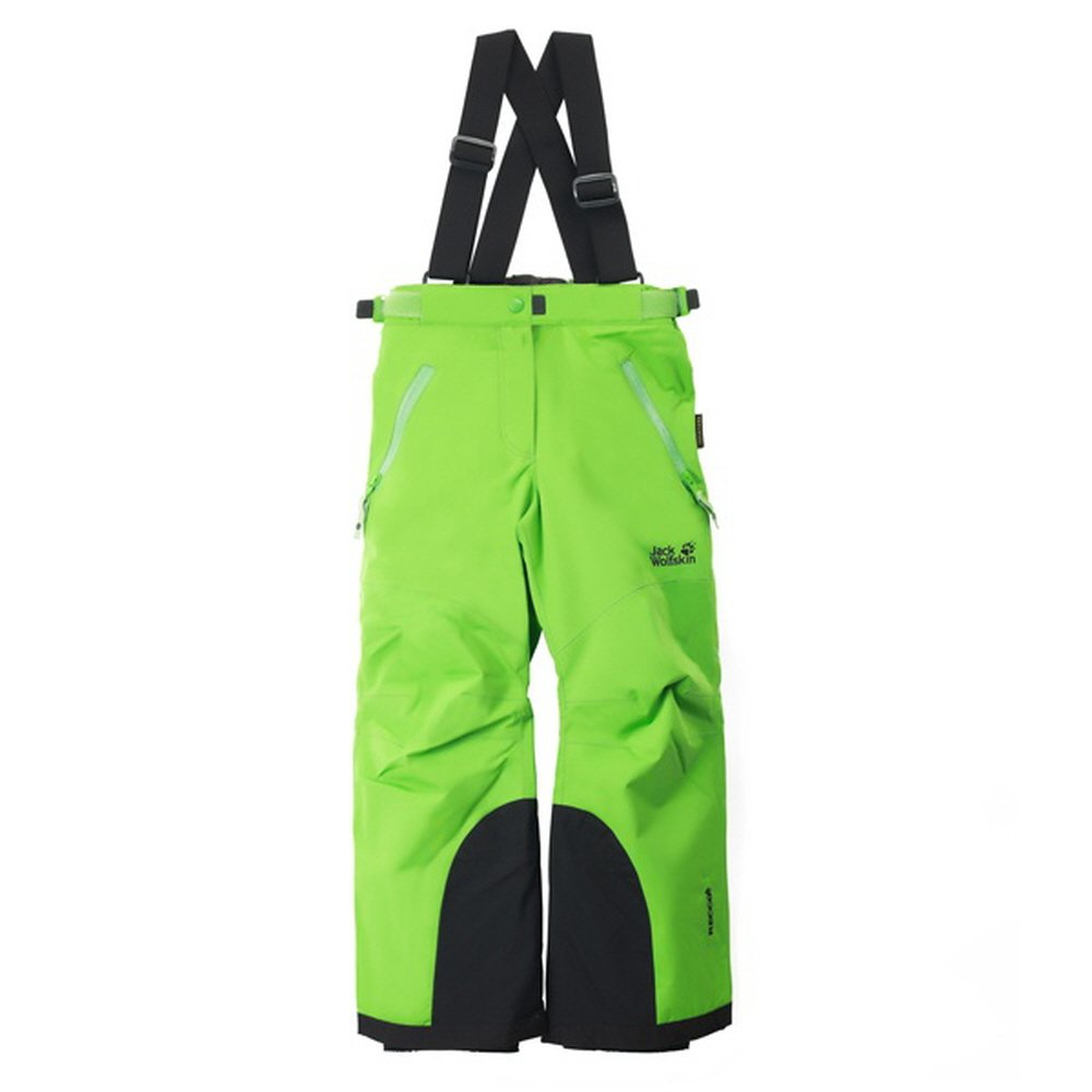 Jack Wolfskin Kids SKI PANTS (140(9-10 Years Old), Green(cucumber green))