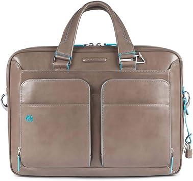 Amazon.com: Piquadro portafolios computadora portafolios con ...