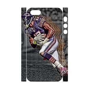 Fashion Diy Alshon Jeffery 3D Case for iPhone 5,5S ,Customized case MK035357