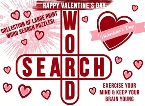 Valentines Gifts for Her: Word Search Puzzle Book as a Valentines ...