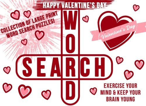 Valentines Gifts for Her: Word Search Puzzle Book as a Valentines Day Gift for Her: Valentines Day Gifts for Girlfriend, Wife, or Mom cover