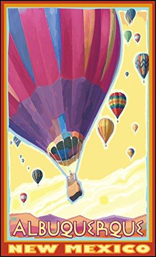 Northwest Art Mall JK-2126 HAB Albuquerque New Mexico Hot Air Balloons Print by Artist Joanne Kollman, 11