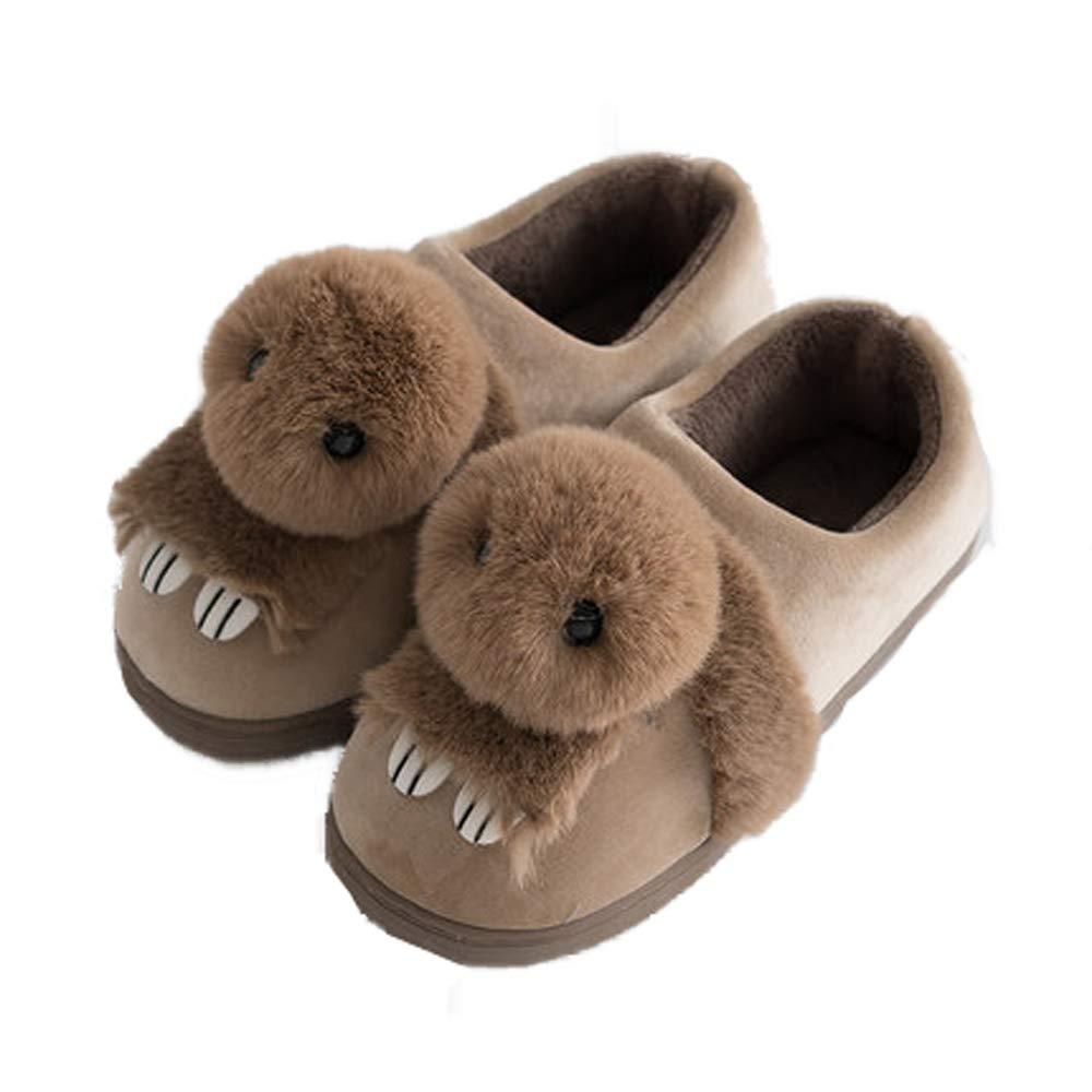 Bunny Slipper Toddler Girls Indoor Outdoor Fur Warm Cute Kids Animal Shoes
