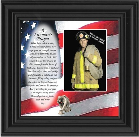 fireman picture frame - 3