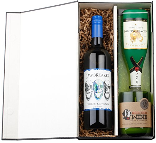 Give a Dog a Bone Red Wine Gift Set with Jawbreaker California Cabernet Sauvignon, 1 x 750mL