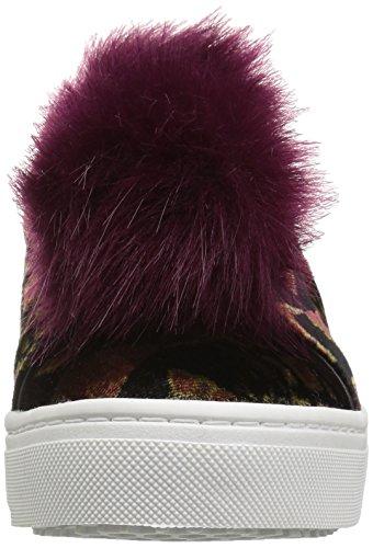 Sam Edelman Kvinna Leya Mode Sneaker Svart / Multi Foulard Lapptäcke