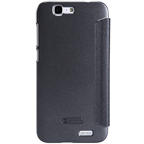 IVSO Huawei Ascend G7 Super Fresh cover High Quality Case-Will only fit Huawei Ascend G7 Smartphone (Black)
