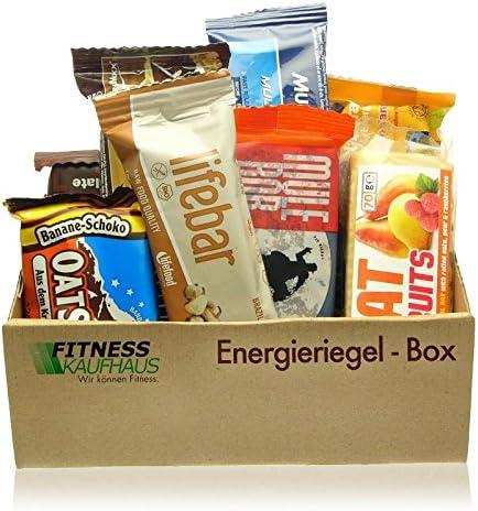 Energieriegel Sample Box - 10 Protein Riegel diverser Hersteller
