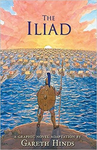 Amazon The Iliad 9780763696634 Gareth Hinds Books