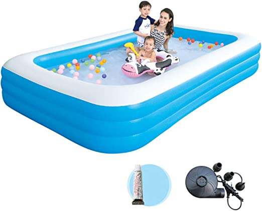 YIRUN Adult Inflatable Pool For Summer Party Verano De Bañera ...