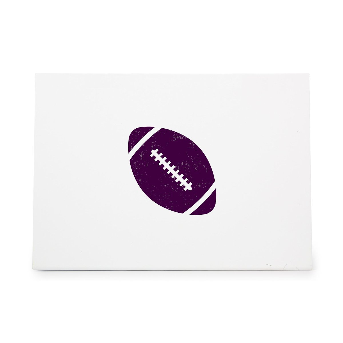 Football Ball Sport Sports Balls Style 10261, Rubber Stamp Shape great for Scrapbooking, Crafts, Card Making, Ink Stamping Crafts StampShapes